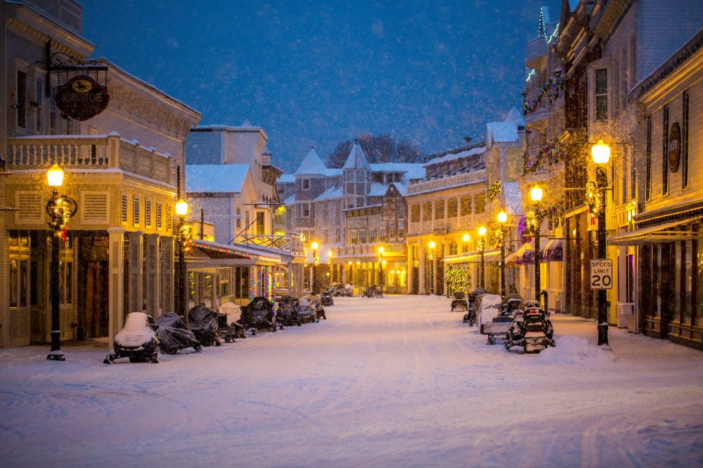 Winter on Mackinac Island is a time for residents to recharge and prepare for a new tourist season to open in the spring.
