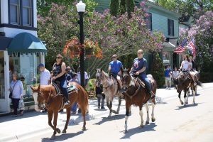 Horseback riding on Mackinac Island is a popular way to get around and a great way to explore Mackinac Island State Park.