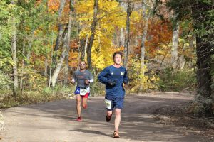 Running events on Mackinac Island include two fall races, the Eight Mile Run & Walk and the Great Turtle Half Marathon.