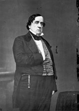 Black and White Photo of Lewis Cass