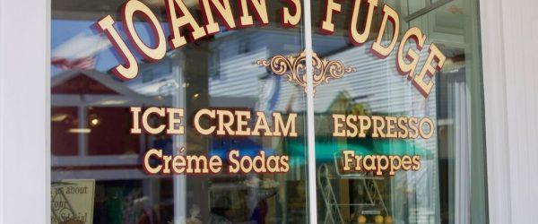 Joanns Fudge shopfront