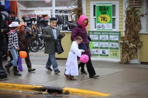 Fall on Mackinac Island brings the annual Halloween Weekend including trick-or-treating through downtown.
